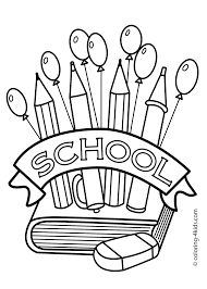 Small Picture First Day Of School Coloring Pages Inside Of esonme