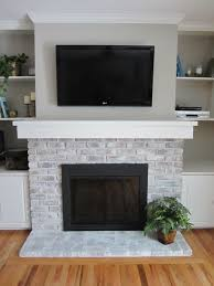 back to remodel brick fireplace for any home