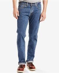Mens 505 Regular Fit Stretch Jeans