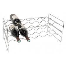 chrome wine rack. Fine Rack Chrome Stackable Wine Rack  With U