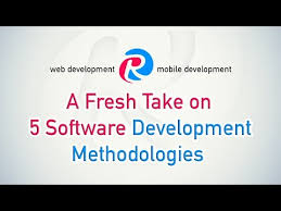 software development methodology 5 methodologies in software development