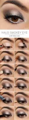 makeup ideas for new years eve halo smokey eye shadow tutorial this article covers