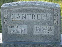 Chester Harold Cantrell (1923-1950) - Find A Grave Memorial