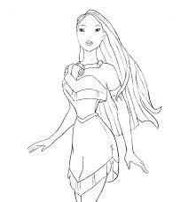 stupendous princess pocahontas coloring pages disney
