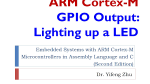Cortex Lighting Lecture 6 Gpio Output Lighting Up A Led