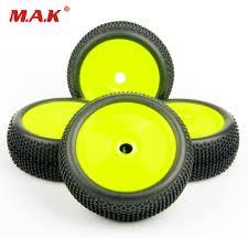 <b>4pcs</b>/<b>set 1/8 RC Car</b> Tires Set Buggy Off Road Tire Rim 17mm Hex F ...