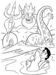 Small Picture Disney Ursula Coloring Pages GetColoringPagescom
