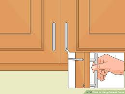 cabinet doors. Image Titled Hang Cabinet Doors Step 6 Cabinet Doors