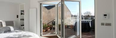 aluminium bifold doors modern glass technology