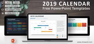 Powerpoint Calendar Template Impressive 48 Calendar PowerPoint Templates