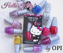Opi Gel Color Chart 2016 Opi Hello Kitty Collection Swatches Review All Lacquered Up