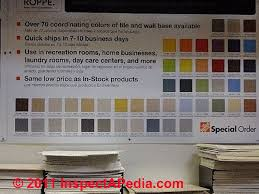 Vct Tile Color Chart Guide To Installing Resilient Flooring Vinyl Tile Sheet