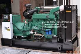 <b>China</b> 11kVA-350kVA Sondproof Silent Open Generator with ...