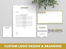 Law Office Logo Design Best Retro Logo Law Firm Logo Lawyer Logo Legal Logo Law Office Etsy
