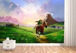 Zelda Wallpaper Zelda Mural Legend of ...