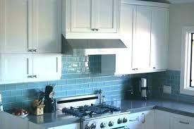 green glass tile kitchen blue backsplash pictures of subway
