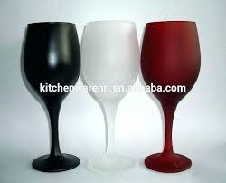 colored stemless wine glasses bottom lenox waterford elegance