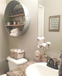 rustic farmhouse bathroom decor ideas shelf idea for home project cabin sweet