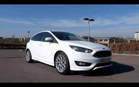 2015 Ford Focus 1.0T EcoBoost 125 Zetec S Start-Up and Full ...