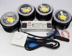 200w cxb3590 diy cob led growing lights