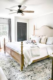 Simply Summer Bedroom Tour | Blesserhouse.com   A Drab Bedroom Gets A  Sophisticated Makeover