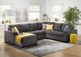 corner furniture piece. Danielle 3-Piece Sectional With Left-Facing Corner Wedge - Grey Furniture Piece T