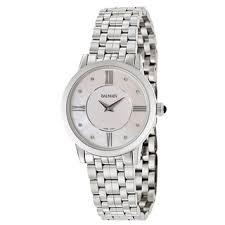 balmain watches overstock com the best prices on designer mens balmain men s eria stainless steel diamond accent mother of pearl dial swiss quartz movement