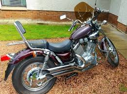 yamaha virago bobber cruiser low seat height a2 in west linton