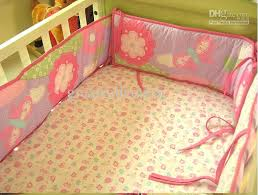 pink baby bedding sets new girl baby cot bedding giraffe flowers comforter quilt crib sheet per pink baby bedding