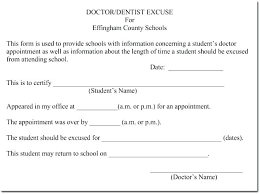 Create A Doctors Note Free Template For Doctors Excuse Note Chanceinc Co
