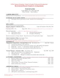 Curriculum Vitae Example Student Cv Resume Examples Students ...