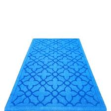 blue rug runner royal extraordinary flamenco hand loomed area carpet for events chenille twi runner rug