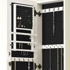 image of wall mounted jewelry storage