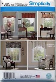 Patterns For Valances Enchanting Window Valance Patterns EBay