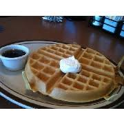 photo of user added denny s belgian waffle er syrup