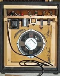 sears 10 xl silvertone 1421 guitar tube amp tone gems silvertone 1421 sears 10xl interior cabinet shot