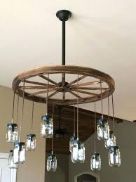 how to make a wagon wheel chandelier the best with details diy m 9 light wagon wheel chandelier with downlights