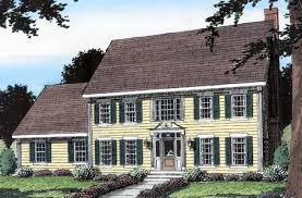Colonial Style House Plans   Plan   Colonial Style House Plans
