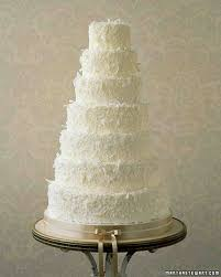 Dreamy Coconut Wedding Cake