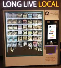 Vending Machine Books Simple Publisher Installs Book Vending Machine Right Next To Airport