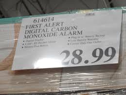 first alert digital carbon monoxide alarm costco 3
