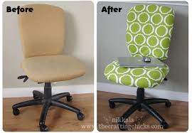 office chair facelift rh thecrafting com diy office chair cover diy office chair slipcover