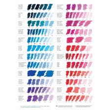 Sennelier Soft Pastels Colour List Localartshop