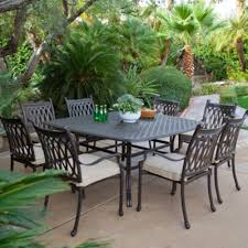 outdoor furniture clearance galvanized dining table outdoor aluminum dining sets cast aluminum patio dining sets