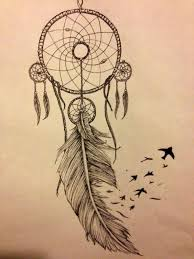 Dream Catcher With Birds When drawing a dream catcher there are many different variations 2