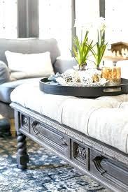 diy tufted ottoman coffee table ottoman tufted ottoman coffee table bench from a house 6 coffee diy tufted ottoman