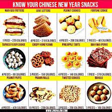 chinese new year goodies calories chart chinese new year waistline the plincco blog