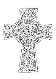 Coloring Pages Of A Cross Iifmalumniorg