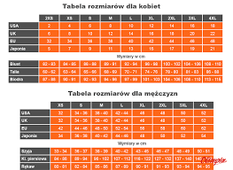 Craft Cycling Size Chart Campus Size Chart Sports Online Shop Olimpiasport Pl