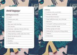 Ultimate Holiday Packing Checklist For Clothes Essentials Printable
